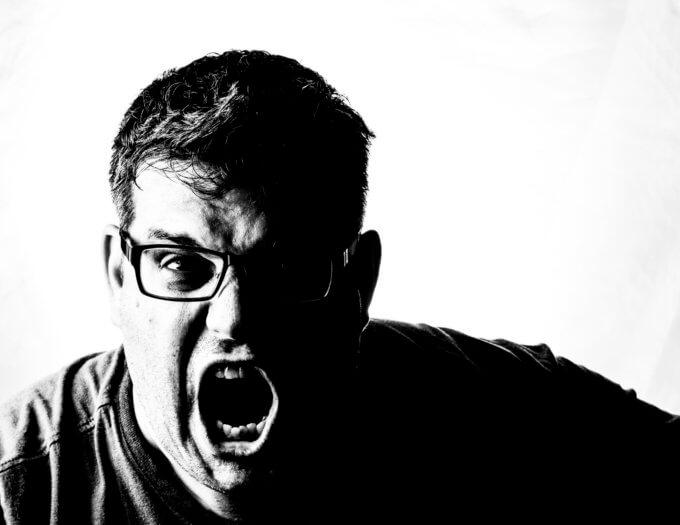 叫ぶ男©Chrystian Guy2014