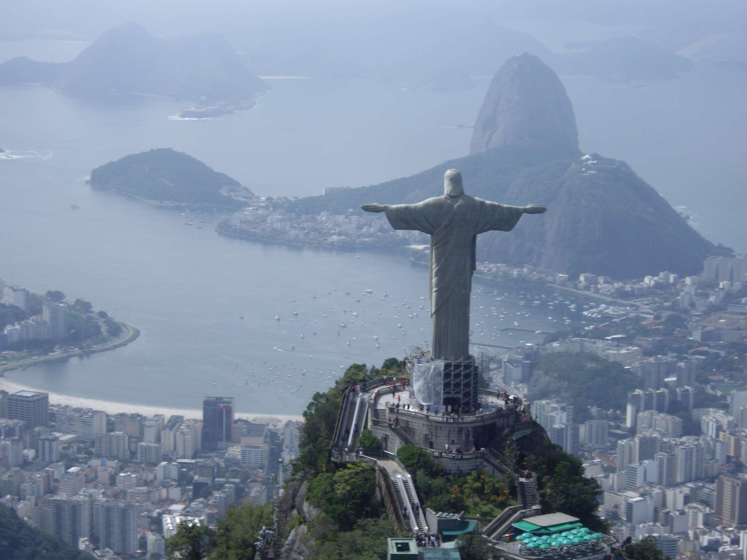 リオのコルコバードのキリスト像