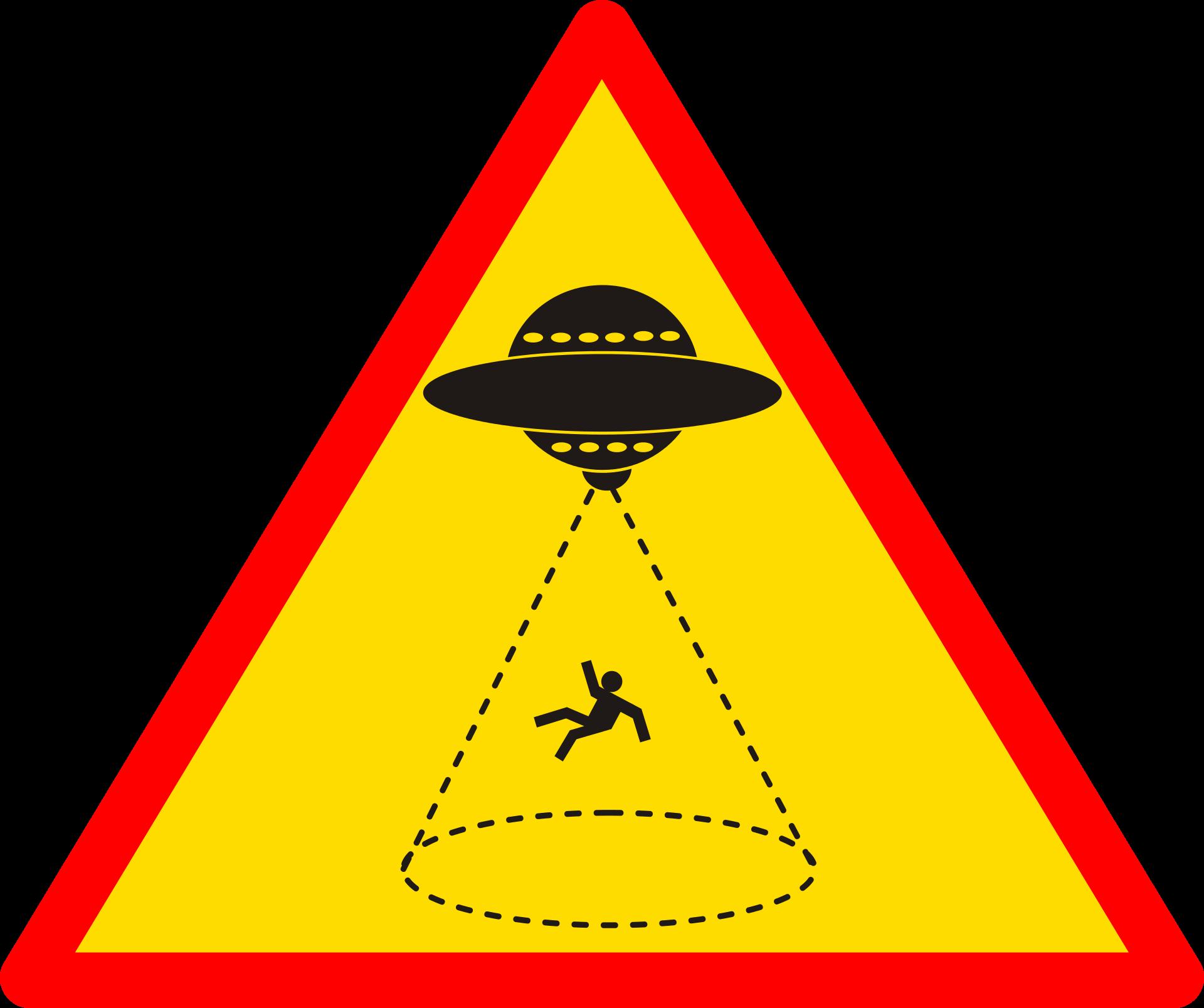 ユニークな警告板