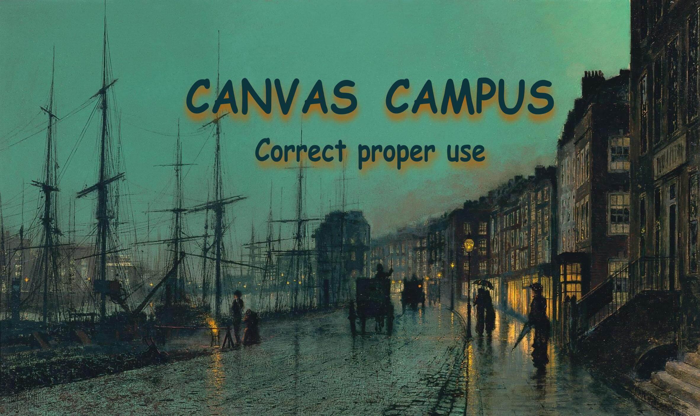 ヨーロッパの夕暮れの街並みを描いた油絵 CANVAS CAMPUS Correct proper use